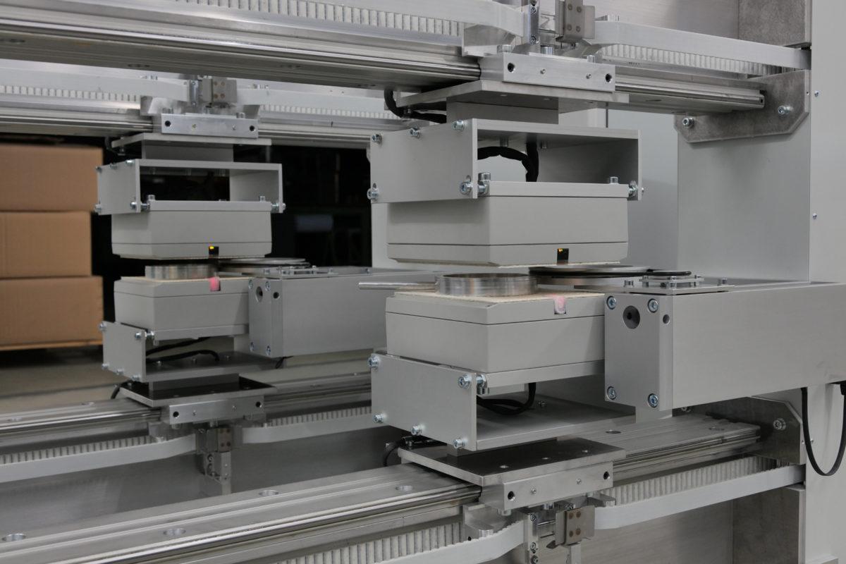 Anlage mit Ultraschallsensor USMX