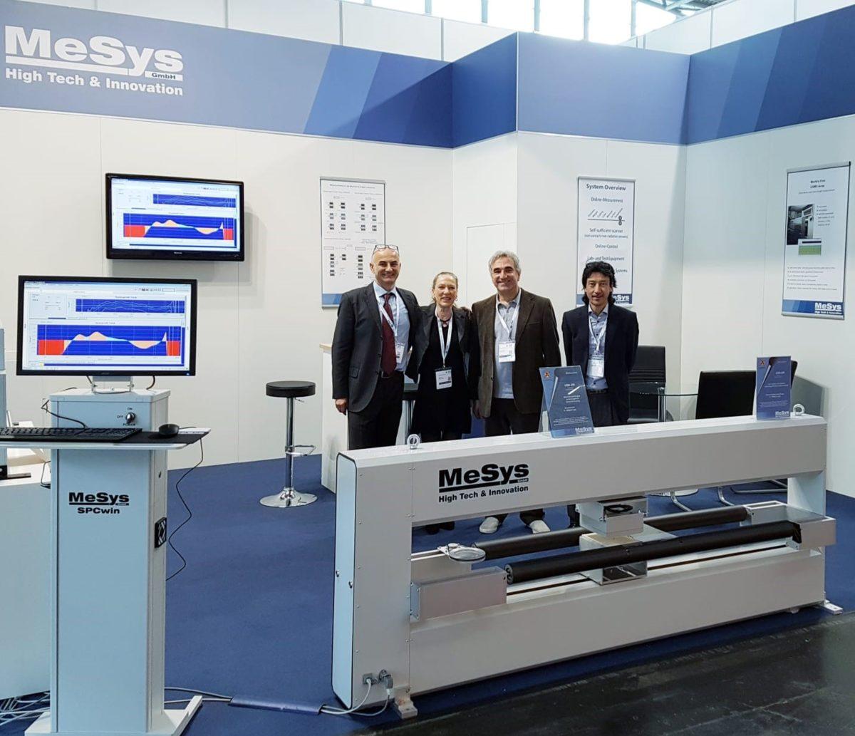 Das Messeteam der MeSys GmbH auf der ICE 2019